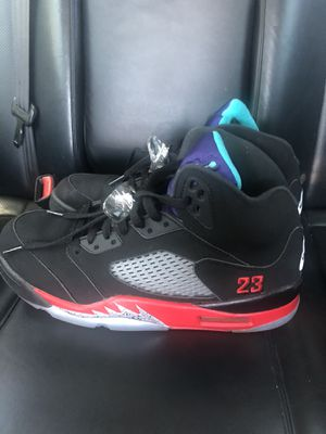Jordan Retro 5 Top 3 Size 9.5 for Sale in Upland, CA