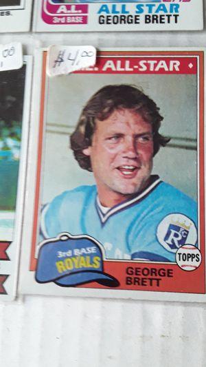George Brett baseball card lot. 12 cards . for Sale in Philadelphia, PA