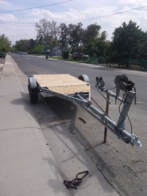 "11x5"" utility trailer for Sale in Arvada, CO"