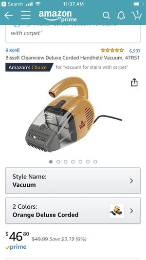 Bissell Cleanwave Delux Corded Handheld Vacuum for Sale in Seattle, WA