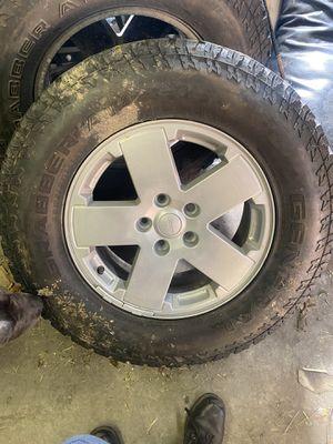 """18"""" Jeep Jk wheels for Sale in Aliquippa, PA"""