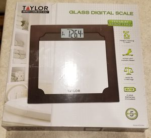 Taylor Glass Digital Scale - Bronze Finish Brand New for Sale in Appleton, WI