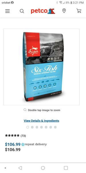 Orijen and acana for Sale in Las Vegas, NV