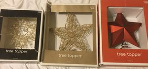 New- 3 Tree Toppers Lot for Sale in Columbus, OH