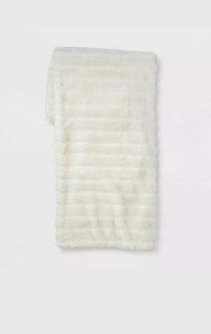 "Texture Faux Fur Throw Blanket 60"" x 50"" Project 62 NEW with Tag for Sale in Orlando, FL"