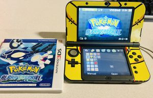 Nintendo 3DS XL With Pokemon Alpha Sapphire for Sale in Upper Marlboro, MD