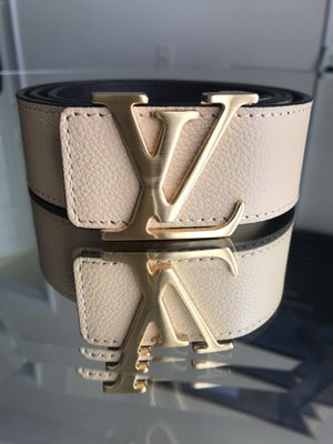 Leather Louis Vuitton belt for Sale in Takoma Park, MD