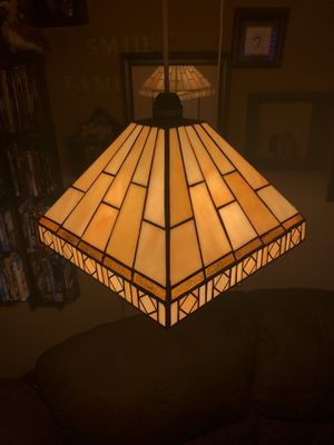 Hanging stained glass lamp for Sale in Tigard, OR