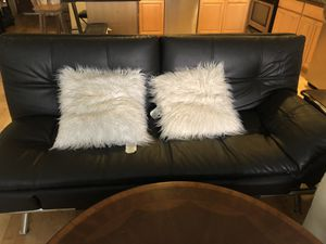 convertible leather couch for Sale in Los Angeles, CA