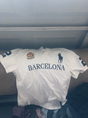 Barcelona polo button up for Sale in Santa Maria, CA