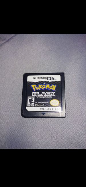 Pokémon black for Sale in Rowland Heights, CA