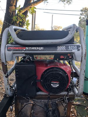 POWERSTROKE generator. Working good, come to see it!!! $300 OBO for Sale in Tampa, FL