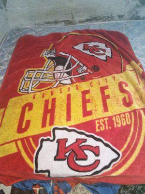KC Chiefs blanket for Sale in Wichita, KS