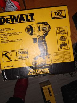 Bran New In The Box DEWALT Impact Drive for Sale in Nellis Air Force Base,  NV