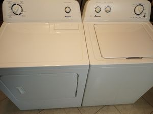 Amana washer dryer set like new for Sale in Dunnellon, FL