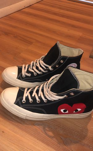 Comme des garçons converse high tops for Sale in MONTGOMRY VLG, MD