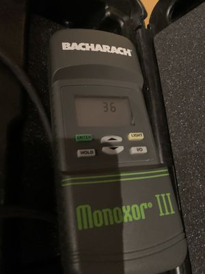 Bacharach monoxor2. Carbon monoxide tester Hvac Freon refrigerant. R-22 for Sale in Moapa, NV