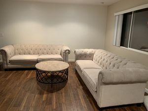 New couches and coffee table from Jerome's for Sale in San Diego, CA