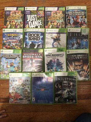 15 Xbox 360 games for Sale in Vienna, VA