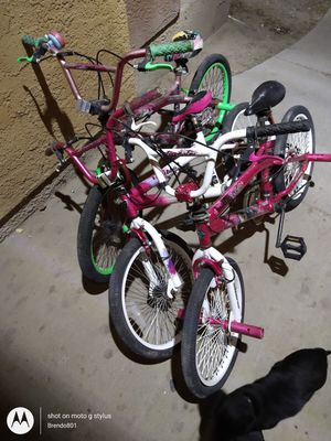 3 girls bmx bikes for Sale in Salt Lake City, UT