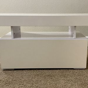 White TV Table for Sale in San Diego, CA
