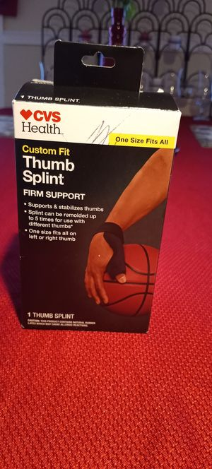 Thumb splint for Sale in Pawtucket, RI