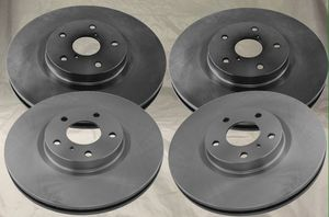 Front/Rear Disc Brake Rotor Kit, Set of 4, Infiniti EX35/37 G25/35/37 M35/45 Q40QX50 350/370Z Maxima for Sale in Whittier, CA