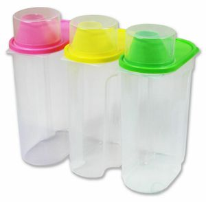 Basicwise Large Plastic Kitchen Saver 3 Container Food Storage Set for Sale in Las Vegas, NV