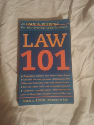 Law 101 by Brien A. Roche for Sale in Silver Spring, MD