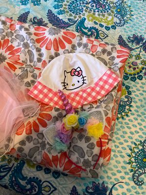 Hello kitty hat and unicorn headband fir $9 for Sale in VA, US