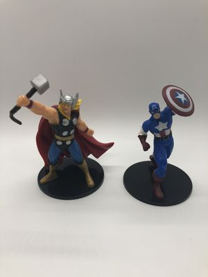 "🔥Marvel Avengers🔥 Thor, Captain America Deluxe 4"" Figures for Sale in Las Vegas, NV"