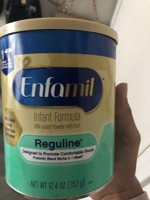 Enfamil Reguline 12.4 oz for Sale in San Jose, CA