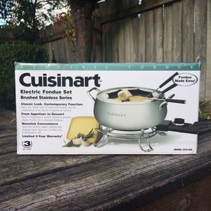 NEW! Cuisinart Stainless Steel Fondue Set for Sale in Bowling Green, KY