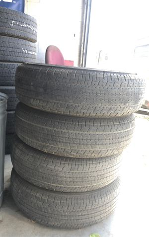 USED TRAILER TIRES ST235/80R16 Goodyear Endurance for Sale in Bakersfield, CA
