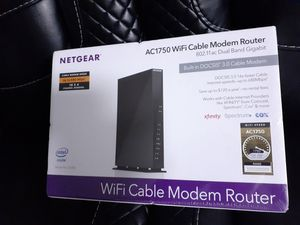 Netgear AC1750 Intel 2-in-1 Cable Modem & Wi-Fi Router ~Brand New~ for Sale in Seattle, WA