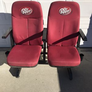 DR PEPPER THEATER SEATS for Sale in Elk Grove, CA
