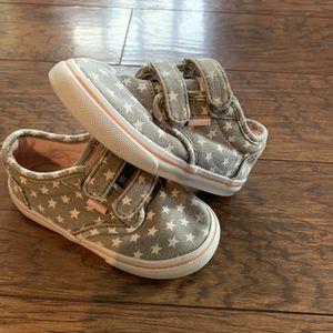 Little girl star Vans toddler size 8 for Sale in Escalon, CA