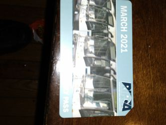 Ripta Monthly Bus Pass For March for Sale in Pawtucket,  RI