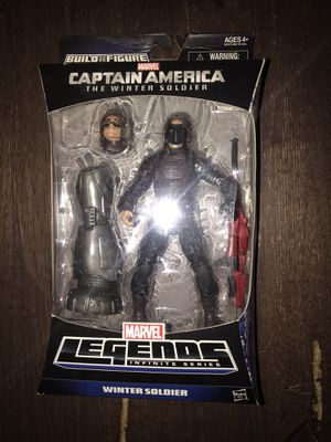 Marvel legends Captain America the winter soldier figure Mandroid wave for Sale in Glendale, CA