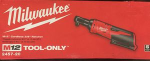 Milwaukee 3/8 Ratchet wrench for Sale in St. Louis, MO