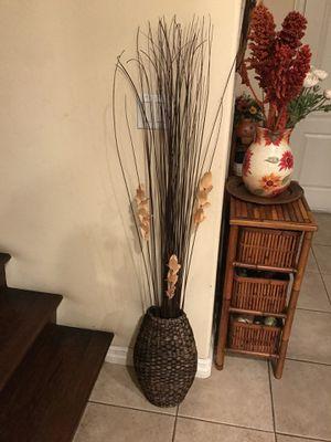 Rattan Vase for Sale in Garden Grove, CA