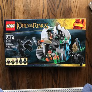 Lego Lord Of The Rings Attack On Weathertop for Sale in Beverly Hills, CA