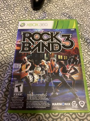 Xbox 360 Rock Band 3 Game for Sale in Zephyrhills Colony Company, FL