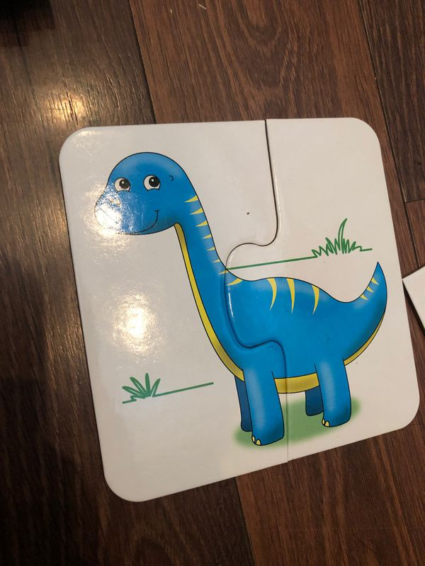 Dinosaur friends matching Puzzle sets - from the learning journey - Preschool - homeschool