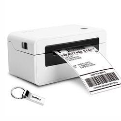 Label Printer, Direct Thermal Desktop Label Printer, High Speed USB Shipping Label Maker for UPS, FedEx Etsy Ebay Amazon Barcode Printing - 4x6 Printe for Sale in Annandale,  VA