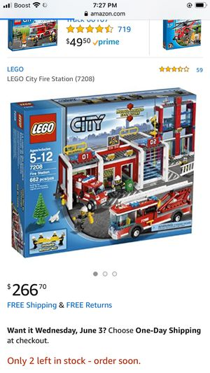 Lego City fire lot rare for Sale in Bingham Canyon, UT