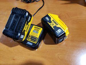 Dewalt batteries and charger for Sale in Glendale, AZ