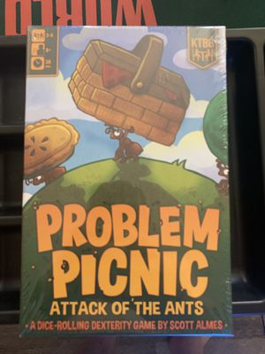 Problem Picnic Board Game (New In Shrink) for Sale in Torrance, CA