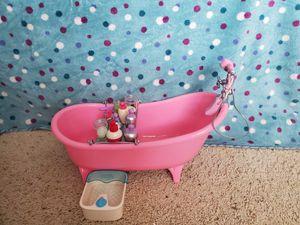 18 inch doll bathtub set for Sale in Kennewick, WA