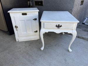 Antique restore end tables for Sale in Burbank, CA
